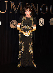 Dame Joan Collins attending the BFI Luminous Fundraising Gala held at the Guildhall, London.
