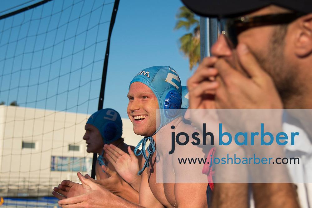 Newport Harbor v Corona del Mar boys water polo at Corona del Mar High School on Wednesday, October 24, 2018 in Newport Beach, California. (Photo/Josh Barber)