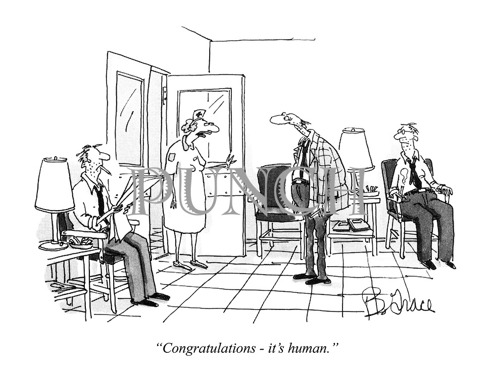 """Congratulations - it's human."""