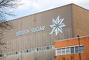 British sugar processing factory at Bury St Edmunds, Suffolk, England