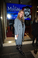 Tazmin Outhwaite at the Les Miserables Gala Press Night at the Sondheim Theatre in London's West End.