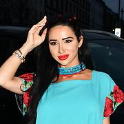 Natasha Grano attend Indonesian Fashion Showcase - Jera at Fashion Scout London Fashion Week AW19 on 16 Feb 2019, at Freemasons' Hall, London, UK.
