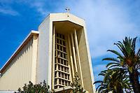 Maroc, Casablanca, Eglise Notre Dame de Lourdes // Morocco, Casablanca, Notre Dame de Lourdes Church