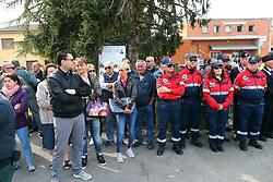 FUNERALE A OSPITAL MONACALE DI VALERIO VERRI VOLONTARIO GUARDIE ZOOFILE UCCISO DA IGOR VACLAVIC