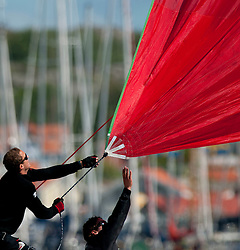 Stena Match Cup Sweden 2010, Marstrand-Sweden. World Match Racing Tour. photo: Loris von Siebenthal - myimage