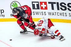 07.05.2018 IIHF ICE HOCKEY WORLD CHAMPIONSHIP - Canada - Danmark 7:1