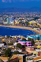 Overview from Lookout Hill, Mazatlan, Sinaloa, Mexico