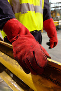 Safety gloves.<br /> <br /> Larger JPEG + TIFF images available by contacting use through our contact page at : www.effectiveworkingimage.com