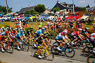 Illustration, Peloton, Scenery, fans, supporters, 2cv,, during the 105th Tour de France 2018, Stage 7, Fougeres - Chartres (231km) on July 13th, 2018 - Photo Luca Bettini / BettiniPhoto / ProSportsImages / DPPI