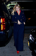 Nov. 18, 2015 - New York, NY, USA -<br /> <br /> Actress Kate Hudson keeps warm in a military style coat as she arrives at a downtown hotel<br /> ©Exclusivepix Media