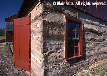 Blacksmith shop of Squire Boone (1769), Daniel Boone's homestead, Berks Co., PA Daniel Boone Homestead, Berks Co., PA