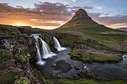 Kirkjufell is a popular photo location in west-Iceland.
