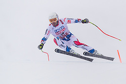 February 9, 2019 - …Re, SWEDEN - 190209 Adrien Theaux of France competes in the downhill during the FIS Alpine World Ski Championships on February 9, 2019 in Ã…re  (Credit Image: © Daniel Stiller/Bildbyran via ZUMA Press)