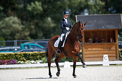 Fry Charlotte, GBR, Graaf Leatherdale T<br /> Longines FEI/WBFSH World Breeding Dressage Championships for Young Horses - Ermelo 2017<br /> © Hippo Foto - Dirk Caremans<br /> 04/08/2017