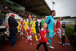 Zeni Husmani of NK Domzale during 1st Leg football match between FC Valur Reykjavik and NK Domzale in 2nd Qualifying Round of UEFA Europa League 2017/18, on July 13, 2017 in Reykjevik, Iceland. Photo by Ziga Zupan / Sportida