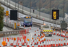 Forth Road Bridge Opens for busses again | South Queensferry | 13 October 2017