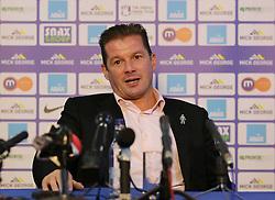 Graham Westley is unveiled as the new manager at Peterborough United - Mandatory byline: Joe Dent/JMP - 07966 386802 - 21/09/2015 - FOOTBALL - ABAX Stadium - Peterborough, England - Graham Westley
