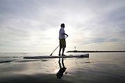 Stand up Paddle in Newport beach Harbor