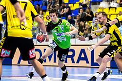 27.04.2018, BSFZ Suedstadt, Maria Enzersdorf, AUT, HLA, SG INSIGNIS Handball WESTWIEN vs Bregenz Handball, Viertelfinale, 1. Runde, im Bild Philipp Seitz (SG INSIGNIS Handball WESTWIEN) // during Handball League Austria, quarterfinal, 1 st round match between SG INSIGNIS Handball WESTWIEN and Bregenz Handball at the BSFZ Suedstadt, Maria Enzersdorf, Austria on 2018/04/27, EXPA Pictures © 2018, PhotoCredit: EXPA/ Sebastian Pucher
