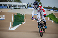 #155 (MECHIELSEN Drew) CAN at Round 1 of the 2020 UCI BMX Supercross World Cup in Shepparton, Australia
