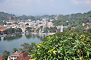 Sri Lanka, Kandy lake and the City centre