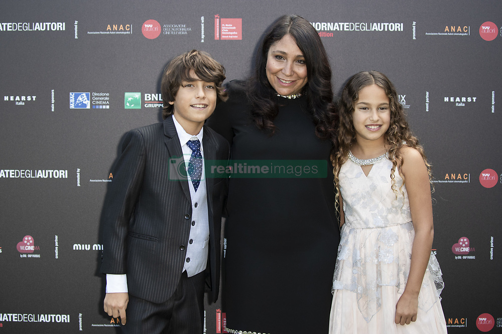 Haifaa Al-Mansour attend 'MIU MIU Women's Tales' photocall during the 75th Venice Film Festival at Sala Casino on September 2, 2018 in Venice, Italy. Photo by Marco Piovanotto/Abacapress.com