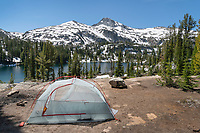 Backcountry camp Eagle Cap Wilderness Oregon