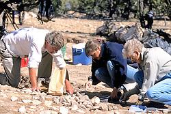 Alan Sullivan, Alison Barlett & Alpha Evans Excavating Site