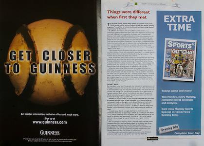 All Ireland Senior Hurling Championship - Final,.14092003AISHCF,.14.09.2003, 09.14.2003, 9th September 2003,.Senior Kilkenny 1-14, Cork 1-11,.Minor Kilkenny 2-16, Galway 2-15,.Guinness, Evening Echo,