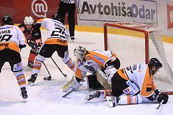 Dejan Varl at Erste Bank Eishockey Liga (EBEL) 2008/2009 match between HK Acroni Jesenice and Eishockeyclub Graz 99ers, on January 9, 2009, in Dvorana Podmezaklja, Jesenice, Slovenia. (Photo by Vid Ponikvar / SportIda).