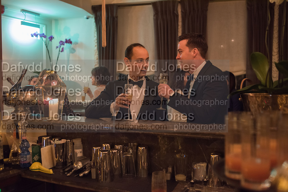 ZAIN GETTY; CHRIS GOULDER, Nicky Haslam hosts dinner at  Gigi's for Leslie Caron. 22 Woodstock St. London. W1C 2AR. 25 March 2015
