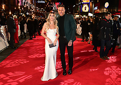 Olivia Buckland and Alex Bowen attending the European premiere of Collateral Beauty, held at the Vue Leicester Square, London.
