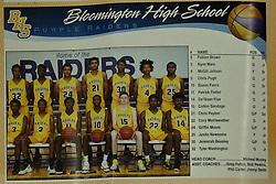 21 November 2016: Intercity Boys Basketball game at the Shirk Center, Bloomington, Illinois.