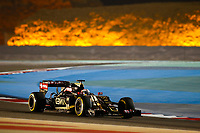 MALDONADO pastor (ven) lotus mercedes e23 hybrid action during 2015 Formula 1 FIA world championship, Bahrain Grand Prix, at Sakhir from April 16 to 19th. Photo Florent Gooden / DPPI