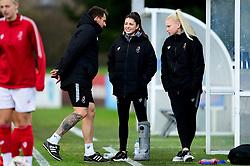 Chris Difford, Carla Humphrey of Bristol City and Jesse Woolley of Bristol City - Mandatory by-line: Ryan Hiscott/JMP - 08/12/2019 - FOOTBALL - Stoke Gifford Stadium - Bristol, England - Bristol City Women v Birmingham City Women - Barclays FA Women's Super League