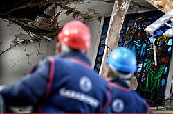 Earthquake in Valnerina. In the picture: Villa Sant'Antonio, a district of the province of Macerata Visso. NO WEB *** *** *** NO DAILY