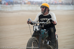 Riding back from the finish line at TROG West - The Race of Gentlemen. Pismo Beach, CA, USA. Saturday October 15, 2016. Photography ©2016 Michael Lichter.