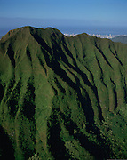 Koolau Mountains, Oahu, Hawaii, USA<br />