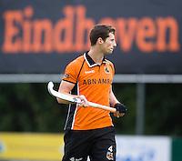 EINDHOVEN - hockey - Sander Baart van OZ tijdens de hoofdklasse hockeywedstrijd tussen de mannen van Oranje-Zwart en Bloemendaal (3-3). COPYRIGHT KOEN SUYK