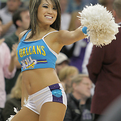 03 December 2008:  A New Orleans Hornets Honeybee dancer performs during a 104-91 victory by the New Orleans Hornets over the Phoenix Suns at the New Orleans Arena in New Orleans, LA..
