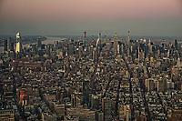 Hudson Yards Complex (left) & Midtown Manhattan Skyline