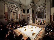 """58th Art Biennale Venice """"May You Live in Interesting Times"""" curated by Ralph Rugoff. Santa Maria delle Penitenti, The Brooklyn Rail. Curators Phong Bui and Francesca Pietropaolo."""