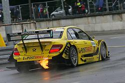 01.07..2011, Norisring, Nürnberg, GER, DTM 2011  5. Rennen, Freies Training im Bild: David Coulthard (GB #17 Deutsche Post AMG Mercedes).   // during the dtm race Nuernberg race 05, on 01/07/2011  EXPA Pictures © 2011, PhotoCredit: EXPA/ nph/   Theisen       ****** out of GER / CRO  / BEL ******