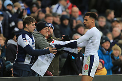March 9, 2019 - West Bromwich, England, United Kingdom - Jacob Murphy of West Bromwich Albion gives his shirt to supporters after the Sky Bet Championship match between West Bromwich Albion and Ipswich Town at The Hawthorns, West Bromwich on Saturday 9th March 2019. (Credit Image: © Leila Coker/NurPhoto via ZUMA Press)