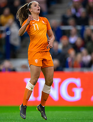 05-04-2019 NED: Netherlands - Mexico, Arnhem<br /> Friendly match in GelreDome Arnhem. Netherlands win 2-0 / Lieke Martens #11 of The Netherlands