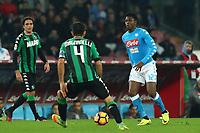 Amadou Diawara Napoli<br /> Napoli 28-11-2016  Stadio San Paolo <br /> Football Campionato Serie A 2016/2017 <br /> Napoli - Sassuolo<br /> Foto Cesare Purini / Insidefoto