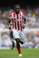 Mame Biram Diouf of Stoke City in action. Barclays Premier league match, Tottenham Hotspur v Stoke city at White Hart Lane in London on Saturday 15th August 2015.<br /> pic by John Patrick Fletcher, Andrew Orchard sports photography.