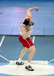 Tomasz Majewski of Poland in the Shot Put men Qualification at the 2nd day of  European Athletics Indoor Championships Torino 2009 (6th - 8th March), at Oval Lingotto Stadium,  Torino, Italy, on March 6, 2009. (Photo by Vid Ponikvar / Sportida)