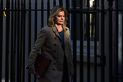 Downing Street, London, April 25th 2017. Education Secretary Justine Greening attends the weekly cabinet meeting at 10 Downing Street in London. Credit: ©Paul Davey
