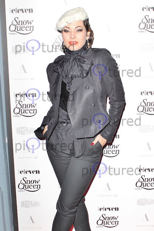 LONDON - December 18: Immodesty Blaize at the Snow Queen Vodka 2013 - Calendar Launch Party (Photo by Brett D. Cove)